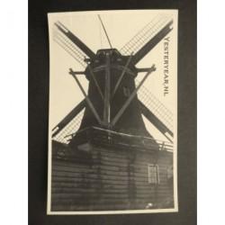 Zaandam ca. 1930 - oliemolen de Oude Zwan/de Oude Turk-fotokaart