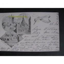 Zierikzee 1901 - groet uit (3 afb.)