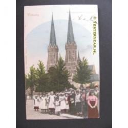 Tilburg 1902 - St Josepskerk en lindenboom