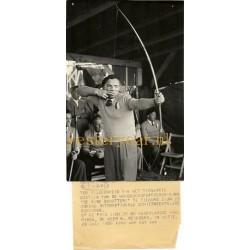 Tilburg Reinders Boogschieten Persfoto 1956