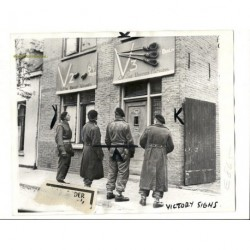 Breda 1944 originele oorlogsfoto 1944