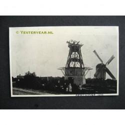 Renswoude 1930 - molen uit 1903 afgebrand