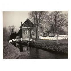 Leiderdorp ca. 1960 - tussen Leiderdorp en Koudekerk