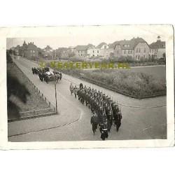 Breda 1940 - begrafenis Engelse vliegeniers - oorlogsfoto