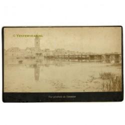 Deventer ca. 1890 - Vue Generale - panorama stad - kabinetfoto