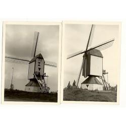 Rosmalen 1965 - gesloten standerdmolen - 2 foto's