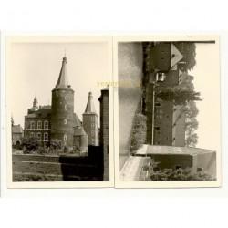 Hoensbroek 1962 - Kasteel Hoensbroek - 2 foto's