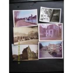Oudewater ca. 1960 - 6 foto's